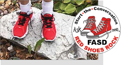 Red Shoes Rock International Campaign to Start the Conversation about FASD